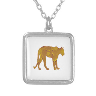 Desert Hunt Silver Plated Necklace