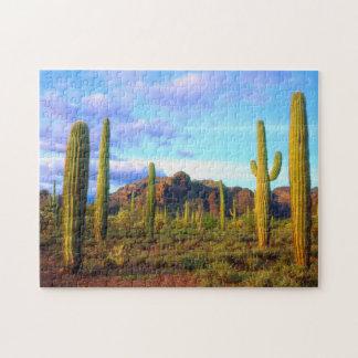 Desert in springtime jigsaw puzzle