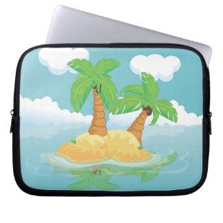 Desert Island Laptop Sleeves