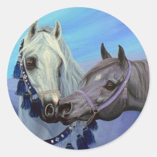 Desert Jewels Arabian horses stickers