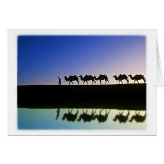 Desert Journey - Thank You Card