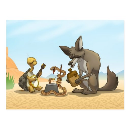 Desert Jug Band Postcard