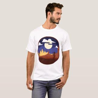 Desert Landscape Man Shirt