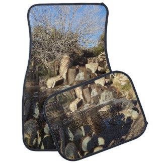 Desert Landscape Set of 4 Car Mats