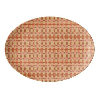 Desert Lattice Porcelain Serving Platter