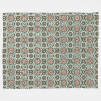 Desert Mandala Fleece Blanket