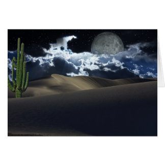 Desert Moon Card