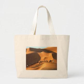 desert-morocco-sahara large tote bag