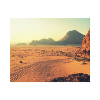 Desert Mountains Canvas Print