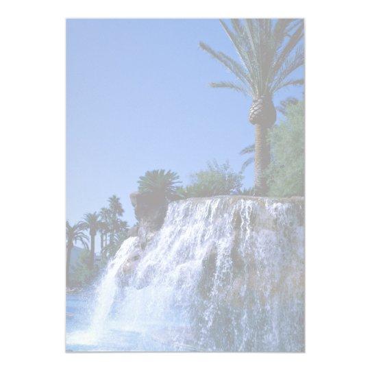 Desert oasis card