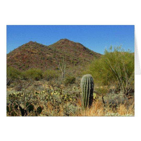 Desert Paradise Card