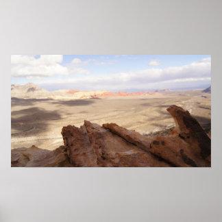 Desert Plain Poster