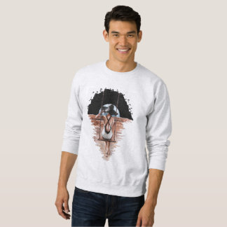 Desert planet swing sweatshirt