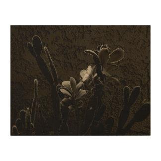 Desert Plants Wood Wall Art