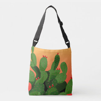 Desert Prickly Pear Arizona Tote