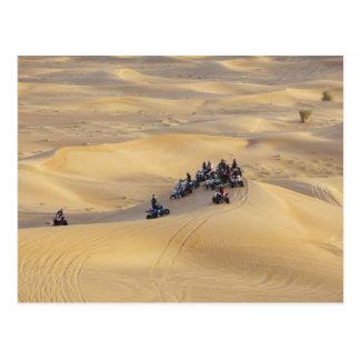 Desert quad bikes, Dubai Postcard