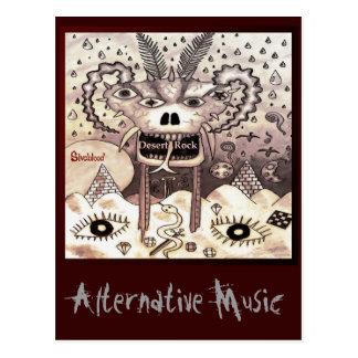 Desert Rock Alternative Music Album Art Postcard