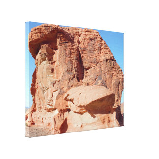 Desert Rock Formations Valley of Fire Canvas Print