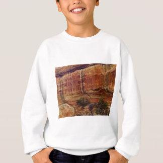 desert rock stripes sweatshirt