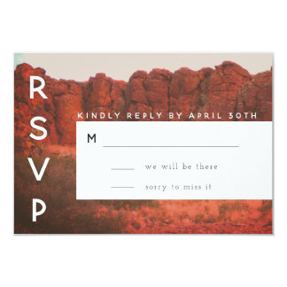 Desert Rocks RSVP Card
