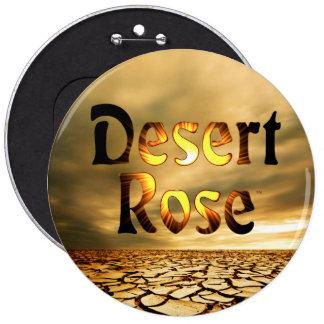 """Desert Rose Album Design 6"""" Button"""