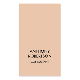 Desert Sand Beige Colour Attractive Business Card