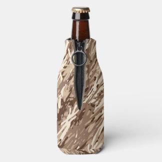 Desert Sand Camouflage Bottle Cooler