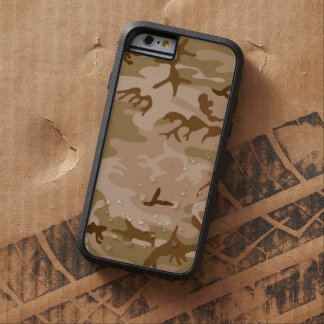 Desert Sand Camouflage Tough Xtreme iPhone 6 Case