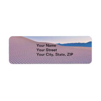 Desert Sands at Sunrise Return Address Label