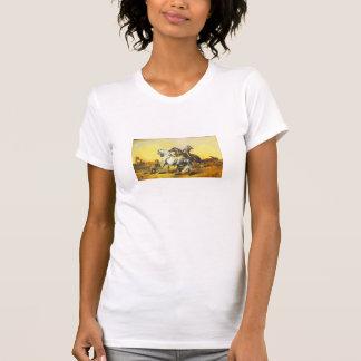 Desert scene tee shirts