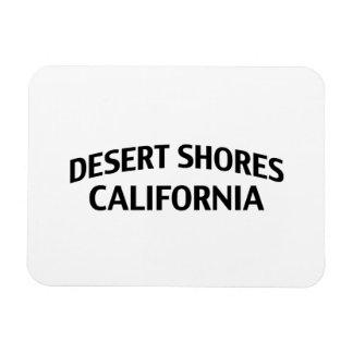 Desert Shores California Rectangle Magnet