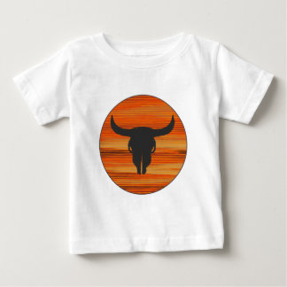 Desert Skull Sunset Baby T-Shirt