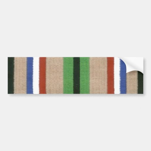 Desert Storm Service Ribbon Bumper Stickers