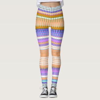 Desert-Stripes-Native-Fringe-Leggings-XS-XL Leggings