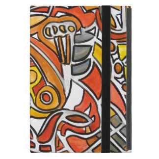 Desert Sun - Abstract Art Case For iPad Mini