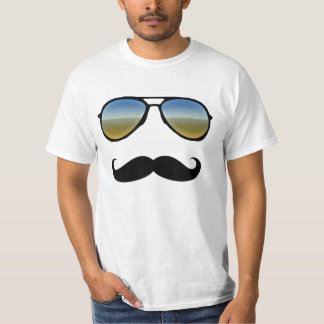 Desert Sunglasses Disguise Moustache T-Shirt