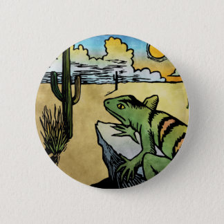 Desert Sunrise 6 Cm Round Badge