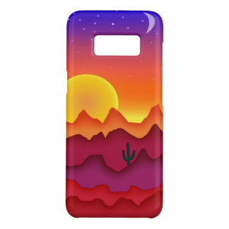 Desert sunset Case-Mate samsung galaxy s8 case