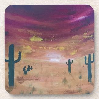 Desert Sunset Coaster