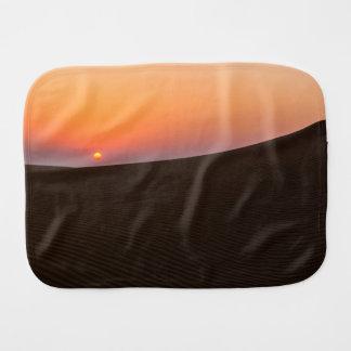 Desert sunset in Dubai Burp Cloth