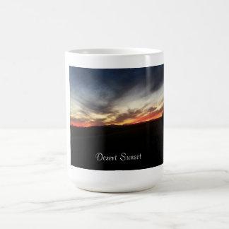 Desert Sunset Basic White Mug