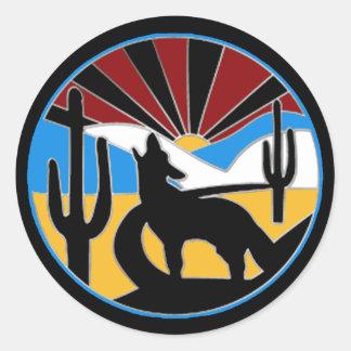 Desert Sunset Sticker