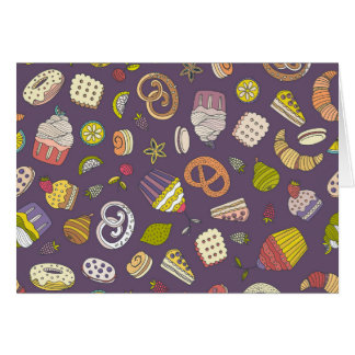 Desert & Sweets Pattern Card