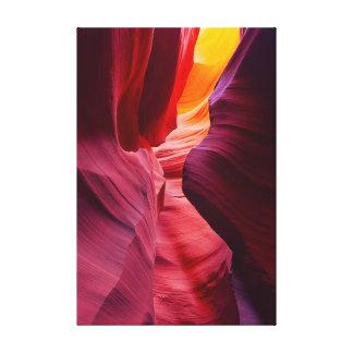 Desert Symphony Canvas Print