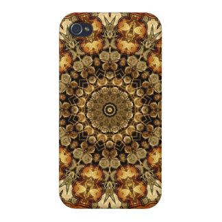 Desert Temple Mandala iPhone 4 Cases