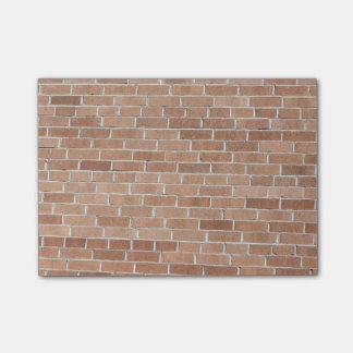 Desert Tones Brick Wall Post-it Notes