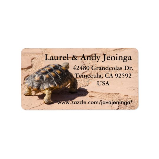 Desert Tortoise Address Labels