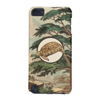 Desert Tortoise In Natural Habitat Illustration iPod Touch (5th Generation) Case