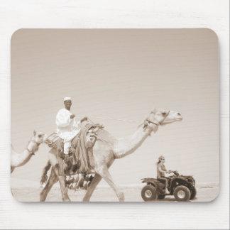 desert transportation mouse pad
