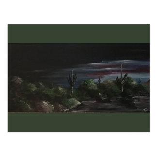 Desert Twilight Postcard